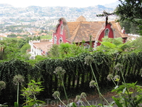Вид на Фуншал со смотровой площадки Императорского парка в Монте