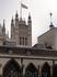 Вид на здание Парламента из окна Вестминстера