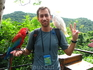 попугайчики в парке