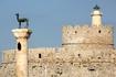 Олени и форт Родоса