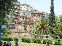 Панагия Халкеон (Богоматерь медников) была основана в 1028 году Христофором Ломбардинским. Свое необычное имя получила от ее использования в качестве мечети ...