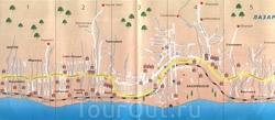Лазаревское на карте