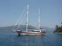 Во время путешествия по 4-ем бухтам Эгейского моря