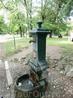Ну и забавный фонтан с питьевой водой.