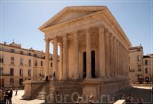 Древнеримский храм-Квадратный дом