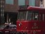 Русский трамвай на вечном приколе на улице Харбина.