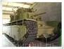 На входе нас встречает Т-35 - советский тяжёлый танк межвоенного периода. Разработан в 1931-1932 годах. Он представлял собой пятибашенный танк классической ...