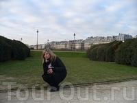 Парк Тuilerry. Париж.