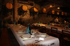 Перед праздничным пасхальным ужином  на ферме в Тоскане