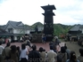 На открытой сцене тоже повествуют о самурайской доблести