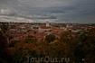 Панорама города. Вид с холма, на котором расположен замок Гедиминаса.
