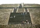 Лестница на пирамиду Солнца.