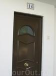 обычная дверь в квартиру