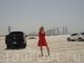на пляже Jumeirah