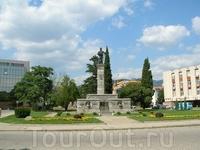 Главная площадь Сливена