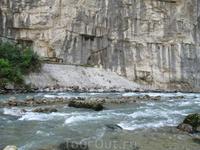Одна из горных рек