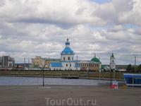 Чебоксарский залив. Церковь Успения Пресвятой Богородицы (1763)