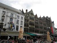 Антверпен. Гроте-Маркт.