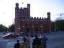 Королевские ворота, вид с боку.
