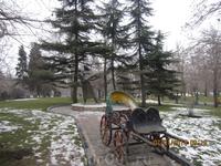 парк Меллат (Народный бывший шахский) на севере Тегерана