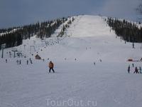 Февраль 2007. Опять же гора Зеленая, выкат.