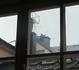 Стокгольм. Увидели трубочиста из окна квартиры, которую снимали. Раньше думали, что это байки. Однако, вот, чистят, лета..., ходят по крышам, здороваются ...