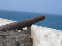 Старые пушки в крепости Сагреша.