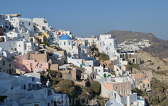 Городок Ия - визитная карточка острова