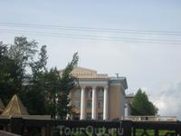 Здание одного из ВУЗов Петрозаводска