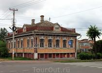 Дом купцов Пивоваровых на Ярославской улице.