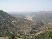 Эх, греческие дороги...100 загибов на версту...