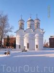Храм на территории Ризоположенского монастыря