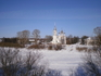 Церковь на низком берегу Вологды