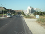 Отель Mitsis Alila выглядывает вдалеке