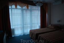 """Отель """"Бригантина"""", так выглядит гостиничный номер. Вдруг вы соберетесь)"""