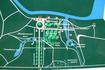 Схема - план усадьбы Михайловское