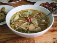 Уха - лапша с рыбой по Вьетнамски.