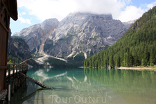озеро Pragser Wildsee