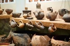 Экспонаты Археологического музея.