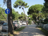 Милано Мариттимо, около 30 км от Римини