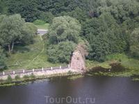 Вид со смотровой площадки башни замка
