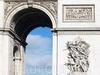 Фотография Триумфальная арка в Париже