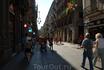 Готический квартал в Барселоне.