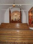 Суздальский Кремль. Лестница, ведущая к Крестовой палате. Это парадная зала архиерейского обихода – составляет композиционный и событийный центр ансамбля ...
