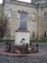 """Стелла рядом с Троицкой церковью. Надпись на стелле: """"Основатели поселка Братья Баташевы Андрей Родионович Иван Родионович 1758 год"""""""