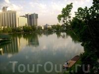 Японский парк в Ташкенте