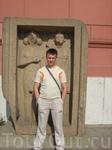Во дворе Каирского музея (внутри фотографировать запрещено)