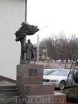 памятник художнику Дроздовичу