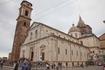 Туринский Дуомо, именно там хранится туринская плащяница.