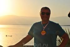 я на берегу Мертвого моря